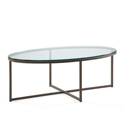 Johnston Casuals - Jon Oval Cocktail Table - 1300-06