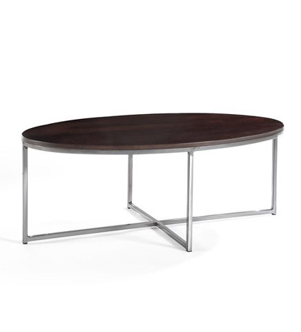 Johnston Casuals - Jon Oval Cocktail Table - 1300-06W