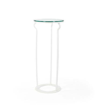 Johnston Casuals - Paradigm Pedestal with Glass Top - 6780-80