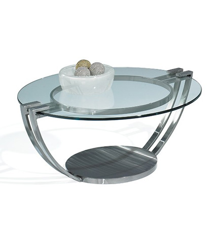 Johnston Casuals - Opus Round Cocktail Table - 89-154C