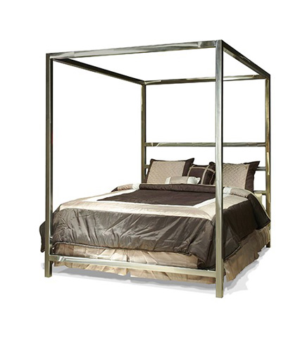 Johnston Casuals - Luxor Queen Canopy Bed - LUX-196