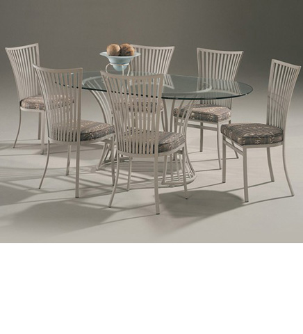 Johnston Casuals - Genesis Oval Dining Set - 2236B/2411/GL4272