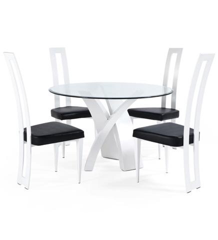 Johnston Casuals - Garlyn Dining Set - 23-133B/7711/GL49