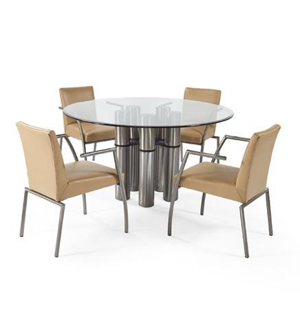 Johnston Casuals - Vortex-Aeon Dining Set - 24-033B/5715/GL54