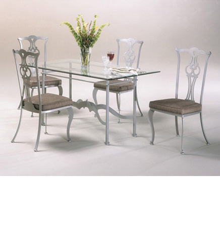 Johnston Casuals - Princeton Dining Room Set - 2732B/2711/GL3660