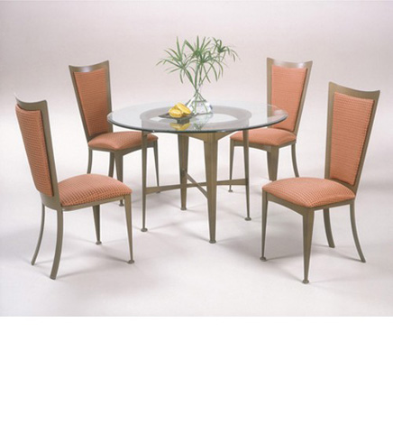 Johnston Casuals - Excalibur Dining Set - 3033B/GL49/3011