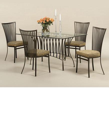 Johnston Casuals - Genesis Dining Room Set - 3835B/2411/GL3660