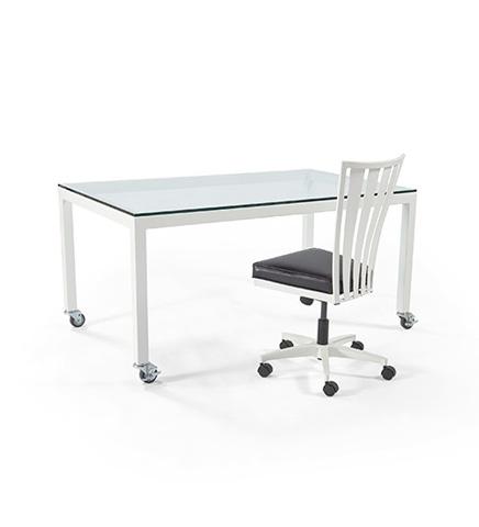 Johnston Casuals - Parsons And Klingman Desk Set - 4146C/2402ST/GL3660
