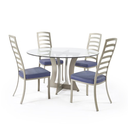 Johnston Casuals - Summit Dining Set - 4233B/GL54/4211