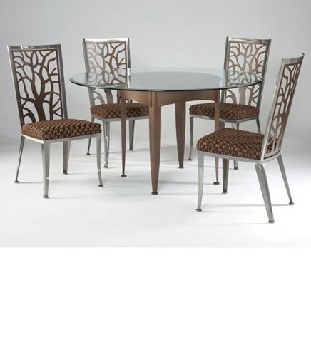 Johnston Casuals - Modurne-Eden Dining Set - 4432B/GL49/1511