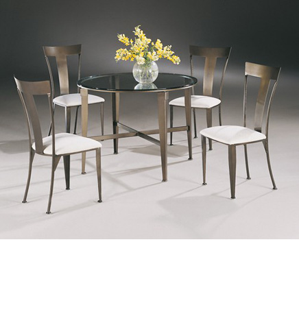 Johnston Casuals - Tribecca Dining Set - 4735B/GL42RD/4711