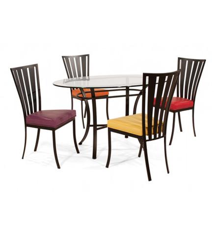 Johnston Casuals - Klingman Dining Set - 7236B/2402/GL3652