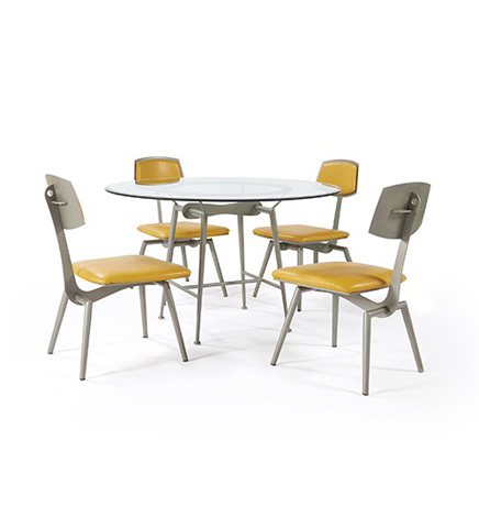 Johnston Casuals - Corvair Dining Set - 7330B/7302/GL49