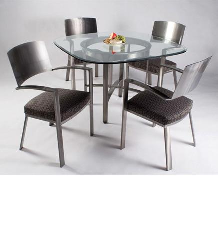 Johnston Casuals - Mirage Dining Set - 7833B/7815/GL49