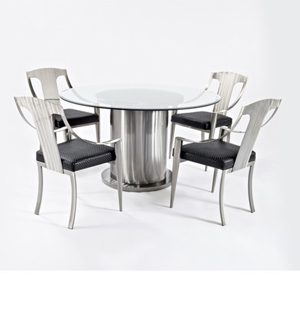 Johnston Casuals - Providence Dining Set - 8132B/8115/GL54