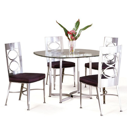 Johnston Casuals - Arena Dining Set - 8633B/8611/GL49