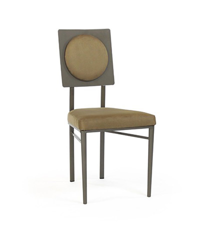 Image of Corona Chair with Upholstered Back