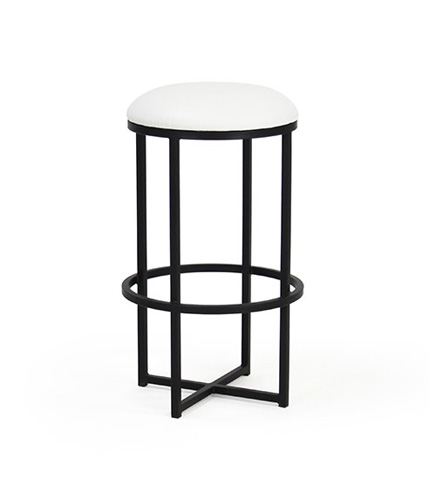 Johnston Casuals - Charles Round Stool - 608-30