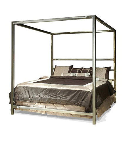Johnston Casuals - Luxor King Canopy Bed - LUX-198