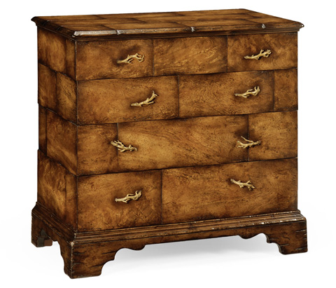 Image of Rustic Chest of 4 Drawers