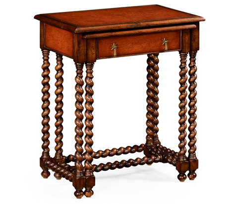 Image of Leather Top Nesting End Tables