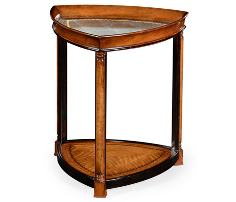 Jonathan Charles - Triangular Lamp Table - 492107