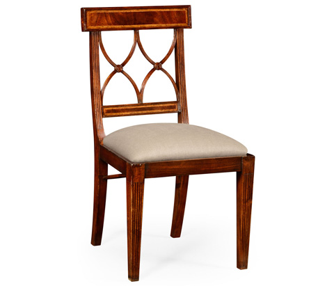 Image of Mahogany Regency Side Chair