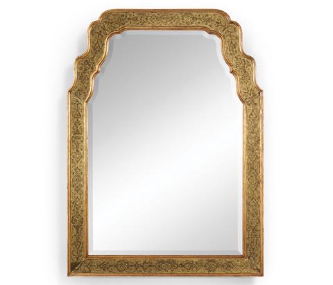 Jonathan Charles - Eglomise Framed and Gilded Mirror - 492208