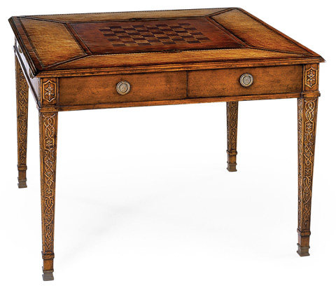 Jonathan Charles - Square Games Table - 492242
