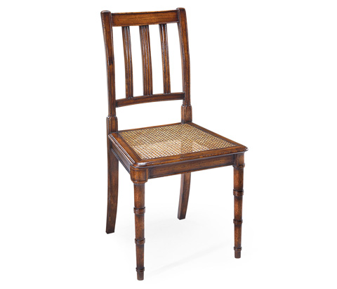 Jonathan Charles - Late Regency Style Caned Side Chair - 492336