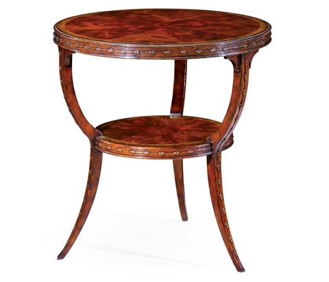 Jonathan Charles - Empire Style Mahogany Table - 492597