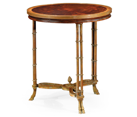 Jonathan Charles - Napoleon III Large Side Table - 492648