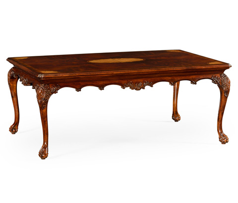 Jonathan Charles - Mahogany Cabriole Leg Coffee Table - 492664