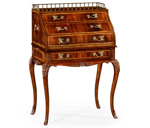 Image of Mahogany Bonheur Du Jour Desk
