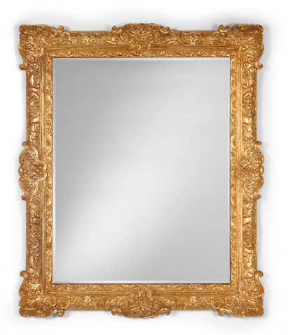Jonathan Charles - French 19th Century Style Bright Gilt Mirror - 493059