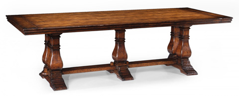 Jonathan Charles - Large Walnut Refectory Table - 493061