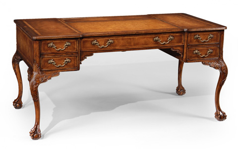 Jonathan Charles - George II Walnut Desk - 493062