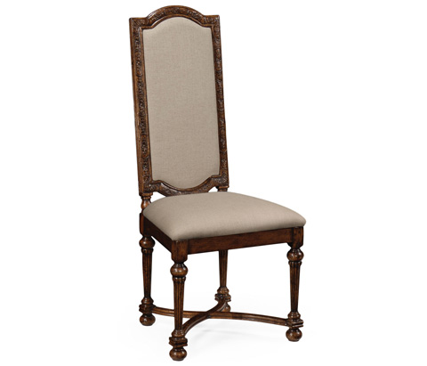 Image of Jacobean Style Oak Chair