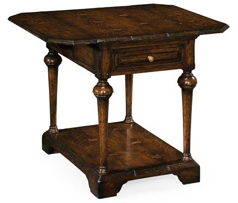 Jonathan Charles - Elizabethan Dark Oak Pembroke Table - 493369