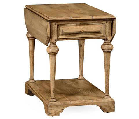 Jonathan Charles - Elizabethan Pembroke Natural Oak Table - 493369-L