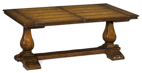 Jonathan Charles - Refectory Style Coffee Games Table - 493422