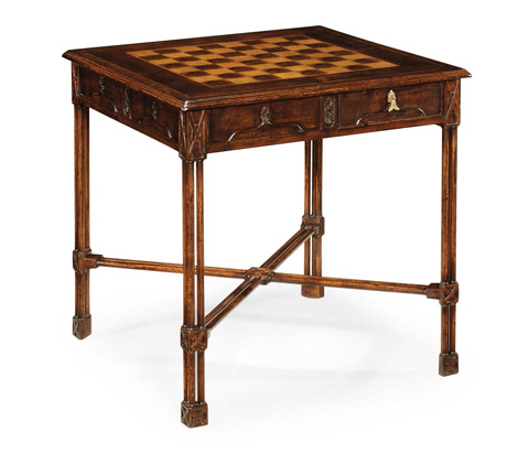 Jonathan Charles - Chippendale Gothic Games Table - 493481