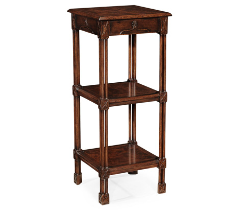 Jonathan Charles - Chippendale Gothic Three-Tier Etagere - 493491