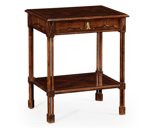 Jonathan Charles - Chippendale Gothic Rectangular Side Table - 493497