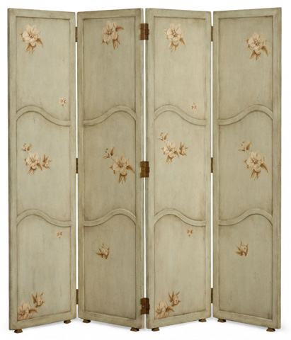 Jonathan Charles - Folding Floor Screen - 493508