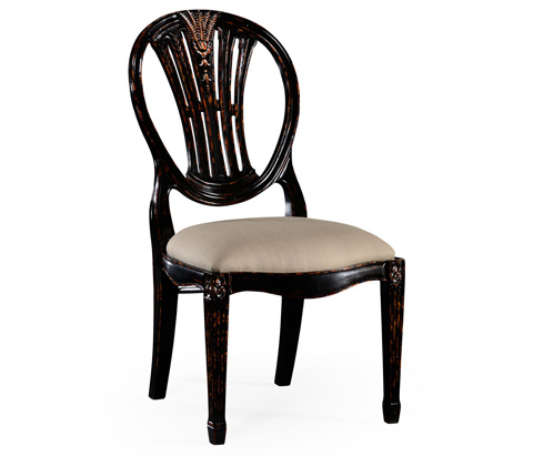 Jonathan Charles - Hepplewhite Wheatsheaf Side Chair - 493760