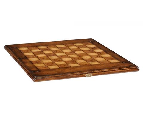 Jonathan Charles - Folding Walnut Games Board - 493781