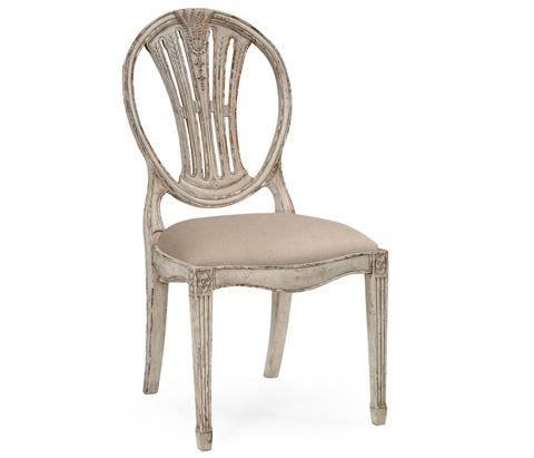 Jonathan Charles - Hepplewhite Wheatsheaf Side Chair - 493862