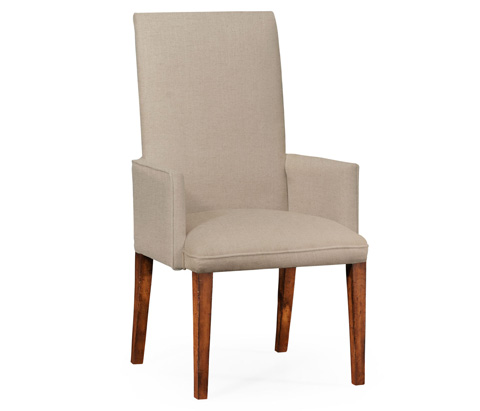 Jonathan Charles - Fully Upholstered Dining Arm Chair - 493899