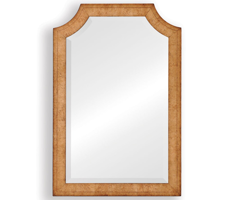 Jonathan Charles - Biedermeier Style Rectangular Shaped Mirror - 494070